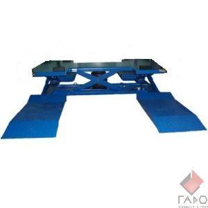 Подъемник пневматический для участка шиномонтажа ППШ-2