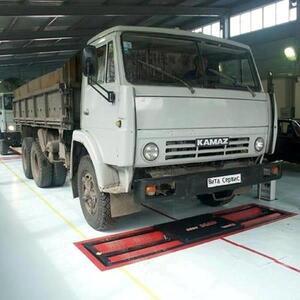 Линия тех.контроля универсальная для легковых, грузовых автомобилей и микроавтобусов до 16 т на ось ЛТК-С 16000.02 (МЕТА)