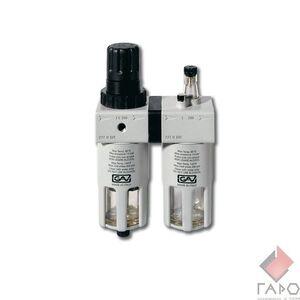 Блок подготовки воздуха с лубрикатором и регулятором давления 1/2 FRL-200