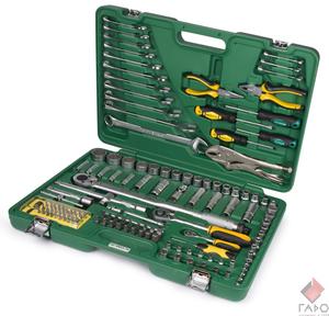 Набор инструмента 136 предметов Арсенал AUTO (AA-C1412P136)