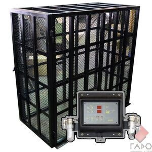 Клетка для накачки колес грузовых автомобилей с устройством «AirD Pro - 10» Polarus KL-30M AirD